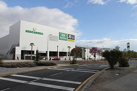 Señalización Centro Comercial Serrallo Plaza, Granada
