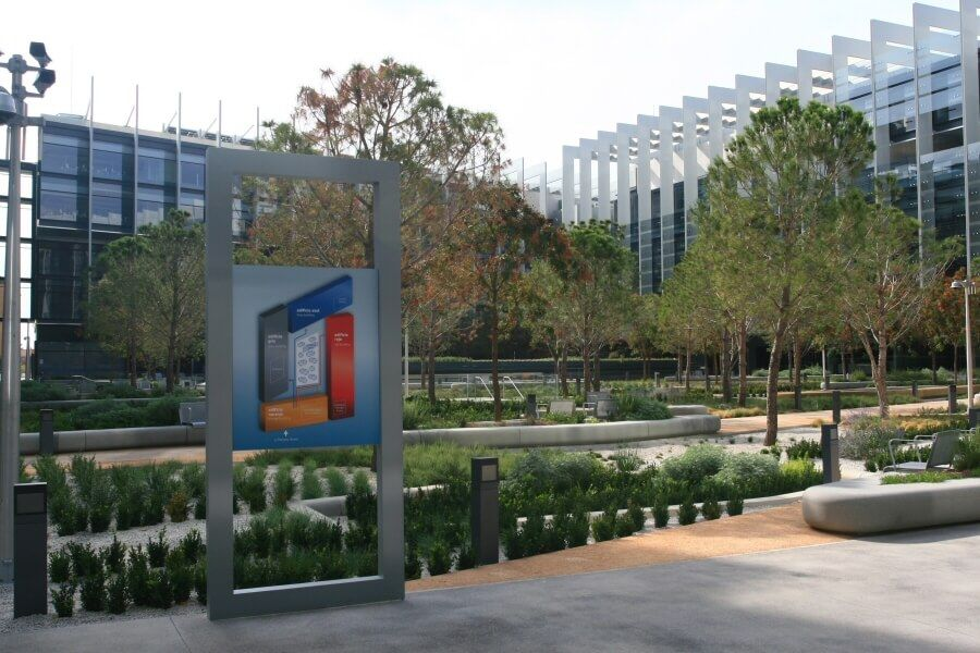 Señalización para el Campus Repsol